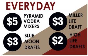 Everyday Drink Specials