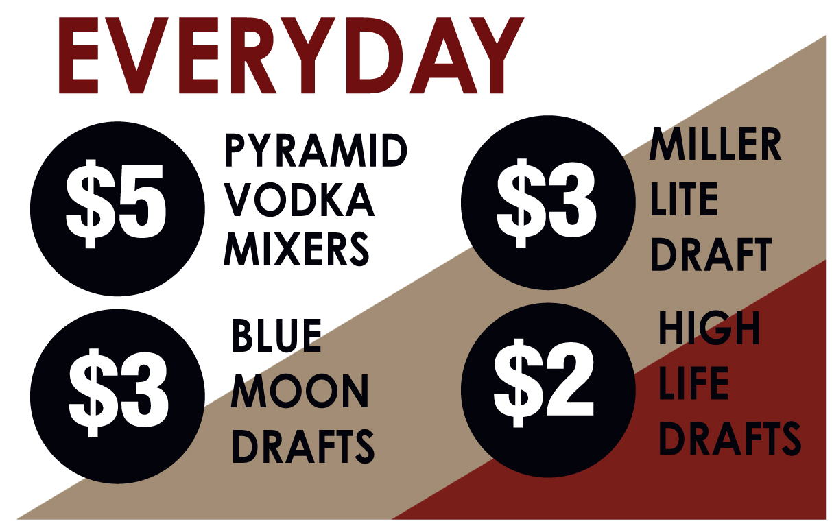 Everyday Drink Specials