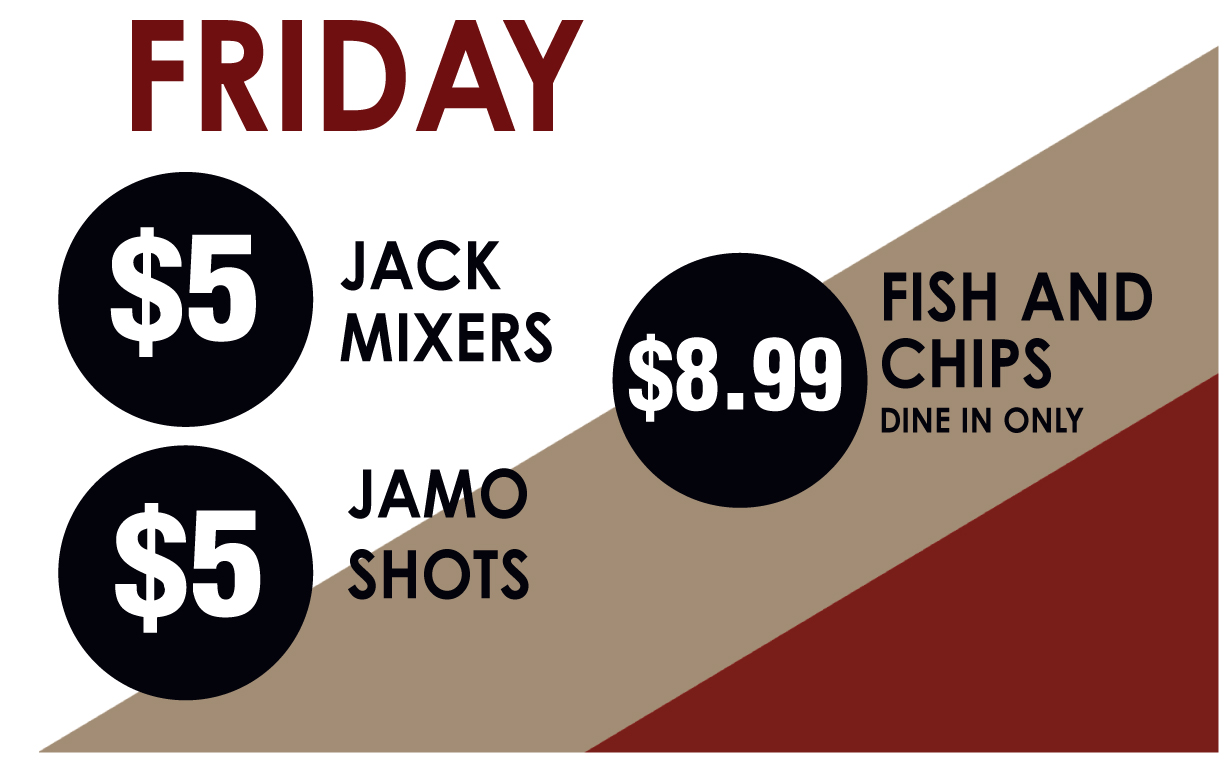 Friday Drink Specials
