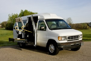 bigstock-Wheelchair-Lift-Van-20047706
